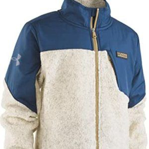 NWT UNDER ARMOUR SHERPA COAT SMALL KIDS